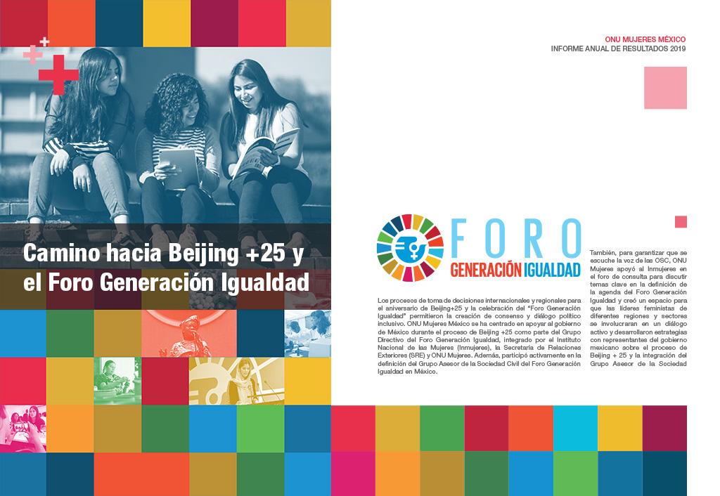 Camino hacia Beijing +25 y el Foro Generación Igualdad